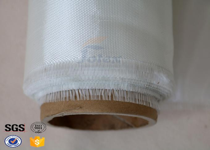 4Oz Conformable White / Transparent Fiberglass Cloth For General