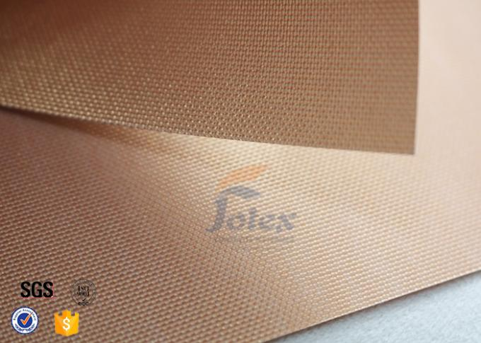 Non Stick Copper Teflon Coated Fiberglass Fabric Ptfe Bbq