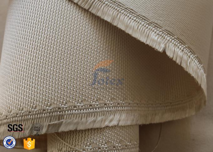 800℃ Fiberglass Fire Blanket 1 2mm 1150g Satin Weave