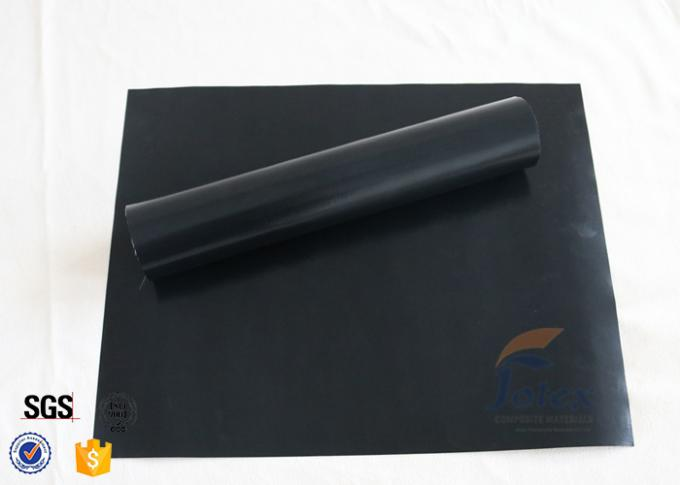 Ptfe Coated Fiberglass Fabric 0 12mm Black 260℃ Non Stick