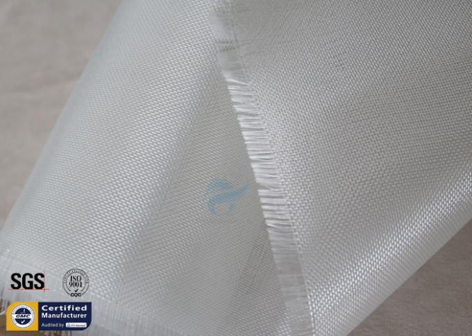 "E Glass Surfboard Fiberglass Cloth 4OZ 27"" 0.12mm White Lightweight Durable"