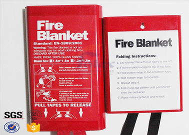 Flame Retardant Fabric Fiberglass Fire Blanket for Thermal Heat Protection