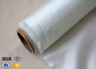 China Durable White 7628 Fiberglass Fabric for Surfboard Aluminized Fiberglass Cloth supplier