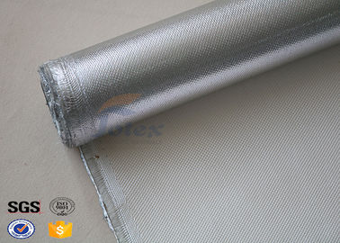 China Recyclable Aluminum Coated High Silica Fabric Fiberglass Fire Retardant supplier