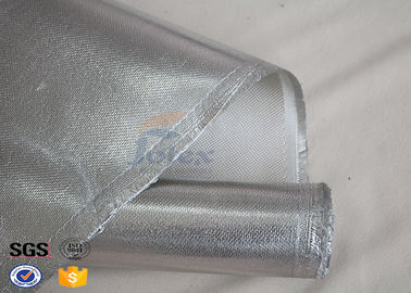 China High Silica Aluminum Coated Fabric for Blankets Welding Shield Glass supplier