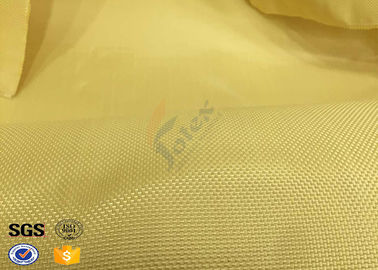 China Fire Resistant Bulletproof Plain Kevlar Aramid Fabric For Aerospace , Chemical supplier