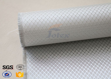 China High Intensity Heat Resistant Fiberglass Woven Cloth With Silver Coated supplier
