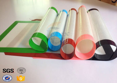China Steamer Silicone Baking Liner Microwave Silicone Fiberglass Baking Mat supplier