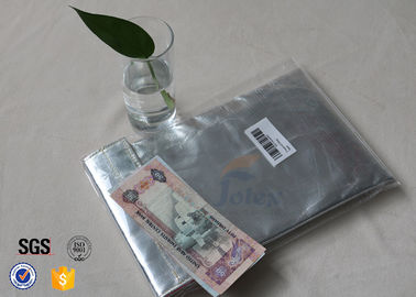 China Non Itchy Fiberglass Fabric Fire Resistant Document Pouch / Fireproof Cash Envelope supplier