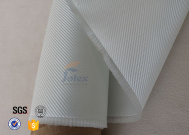 China Transparent Clear White Fiberglass Fabric Glass Fiber Cloth For Surfboard supplier