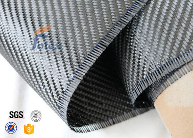China 3K 200g Twill And Plain Weave Carbon Fiber Fabric For Surface Decoration supplier