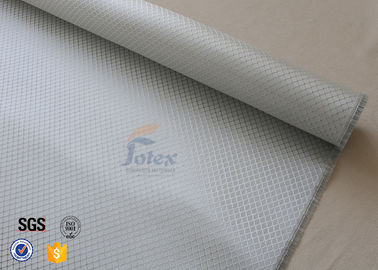 China Aluminized Silver Coated Fiberglass Fabric For Car Surface Decoration supplier