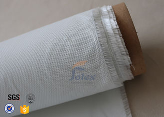 China Durable Flexible 0.5mm White Silicone Coated Fiberglass Fire Blanket 490g/M2 supplier