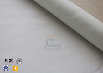 China White 0.5mm Silicone Coated Fiberglass Fabric For Household Fire Blanket supplier