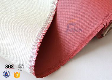 0.8mm High Silica Cloth High Temperature Silicone Coated Fiberglass