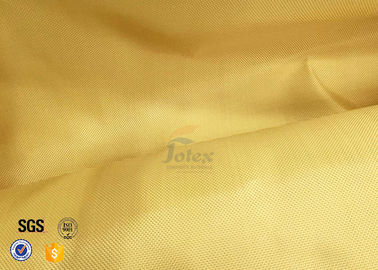 China Bulletproof Kevlar Fabric Roll 1000D Twil Weave Ballistic Cloth 180g 0.25mm supplier
