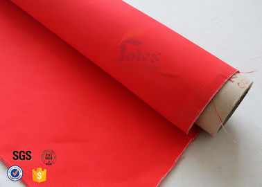 "China Red Acrylic Fiberglass Fire Blanket 480gsm 39"" Industrial Fire Resistance supplier"