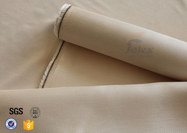 China 800℃ Fiberglass Fire Blanket Material 0.7mm 600gsm High Silica Fabric supplier