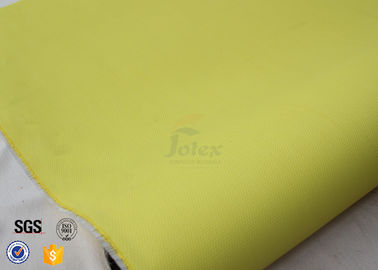 0 5mm Yellow Pu Coated Fiberglass Fabric Welding Fire