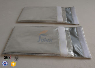 China No Irritating Fireproof Document Bag / Pouch , fireproof cash storage bags Light weight supplier
