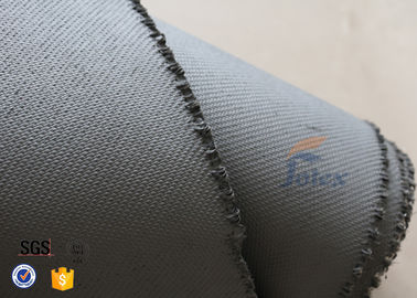 China 1600gsm Grey Thermal Welding Blanket Materials Silicone Coated Fiberglass Fabric supplier