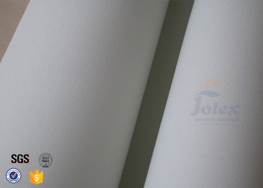 China PU Coated Fiberglass Welding Blanket Insulation Materials White 0.6MM 20OZ supplier