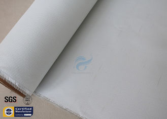 China Silicone Coated Fiberglass Fire Blanket White 0.43MM 550℃ Electrical Insulation supplier