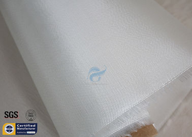 "China 4oz Fiberglass Cloth For Surfboard White 27"" 100M E Glass Tear Resistant supplier"