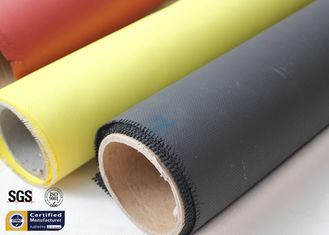 China Fiberglass Fabric Acrylic Coated Fire Welding Blanket Cloth Roll 0.45MM 260℃ supplier
