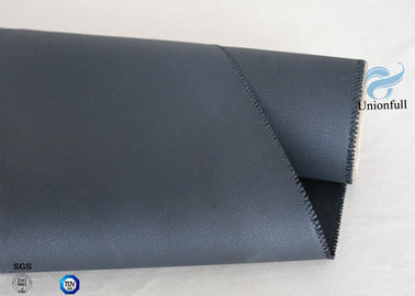 China High Intensity 0.45mm 260℃ High Temp Resistant Silicone Coated Fiberglass Fabric supplier