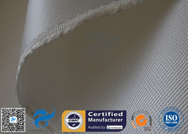 China Fireproof Heavy Duty High Silica Fabric Fiberglass Cloth 1.3mm Thickness supplier