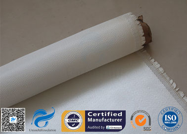 China 0.7mm 600gsm Fire Resistant Fiberglass High Silica Cloth High Purity Hard - Wearing supplier