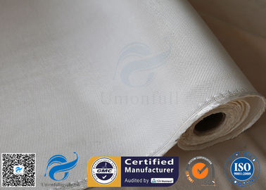 China 1200g 1.3mm White Chemical Resistant Thermal Insulation High Silica Cloth supplier