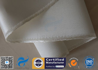 China Satin Weave Fiberglass High Silica Fabric 1200℃ Heavy Duty 1200gsm 1.3mm Thickness supplier