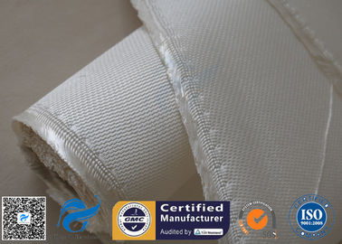 China 1200gsm 1.3mm Fiberglass Fabric High Silica Cloth For Welding Blanket supplier
