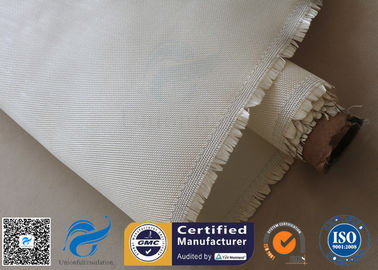 600gsm 0.7mm Fiberglass Cloth High Silica Glass Fiber 800degree C Fireproofing