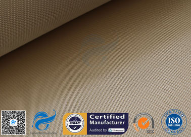 China 1200gsm 35oz Brown High Silica Fabric 1200℃ Satin Fiberglass Fire Blanket supplier