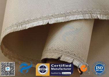 China 800℃ Brown High Silica Fabric 1150GSM 1.2MM , High Temperature Fiberglass Cloth supplier