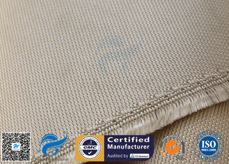 "China High Temp. Silica Fabric 800℃ 1200G 36"" Wide Brown Chemical Resistant supplier"