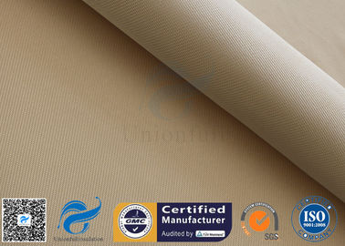 "China High Silica Woven Fabric 1200℃ Welding Heat Resistant 1200GSM 39"" Brown supplier"