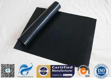 "China 0.12mm FDA Black Non Stick PTFE BBQ Grill Mat Oven Liner 15.75x13"" supplier"