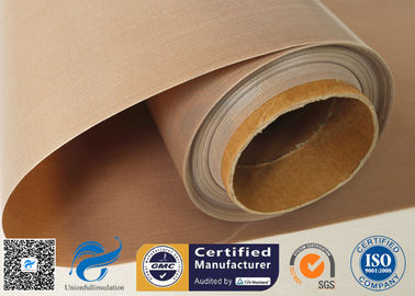 China PTFE Coated Glass Fibre Fabric Non Stick Food Grade BBQ Grill Mat Materials supplier