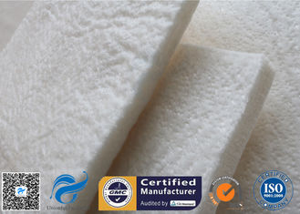 China 20mm High Silica Fiberglass Needle Mat For Muffler And Heat Insulation supplier