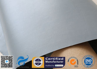 China 280G 0.25mm PVC Coated Fiberglass Fabric For Flexible Air Duct , FDA approved supplier