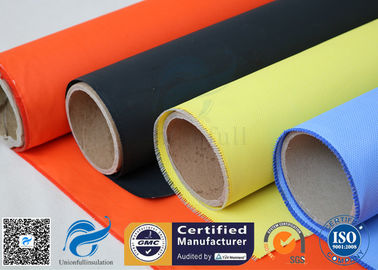 China Fireblanket Fiberglass Silicone Coated Fiberglass Fabric Fireproof Cloth supplier