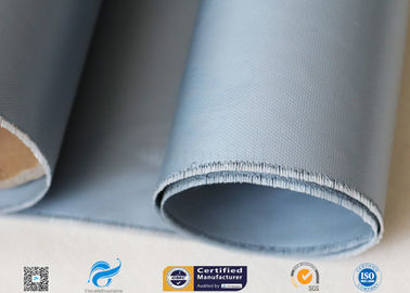 China Grey Silicone Coated Fiberglass Fabric 7628 0.25mm For Electrical Insulation supplier