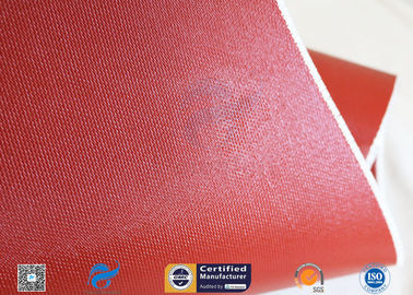 "China Silicone Coated Fiberglass Fabric Thermal Insulation Materials 1010GSM 51"" supplier"