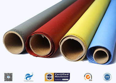 China Heat Resistant Silicone Coated Fiberglass Fabric Insulation Material supplier