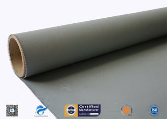 China 0.45mm Silicone Coated Fiberglass Fabric For Thermal Insulation Covers supplier