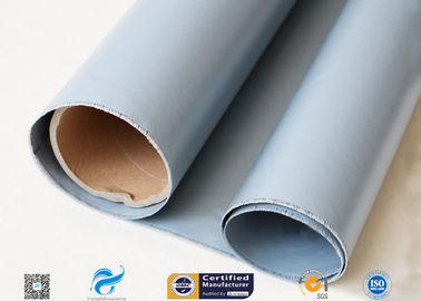 China Expansion Joint 3732 silicone rubber coated fiberglass fabric Grey Blue 350gsm 580gsm supplier